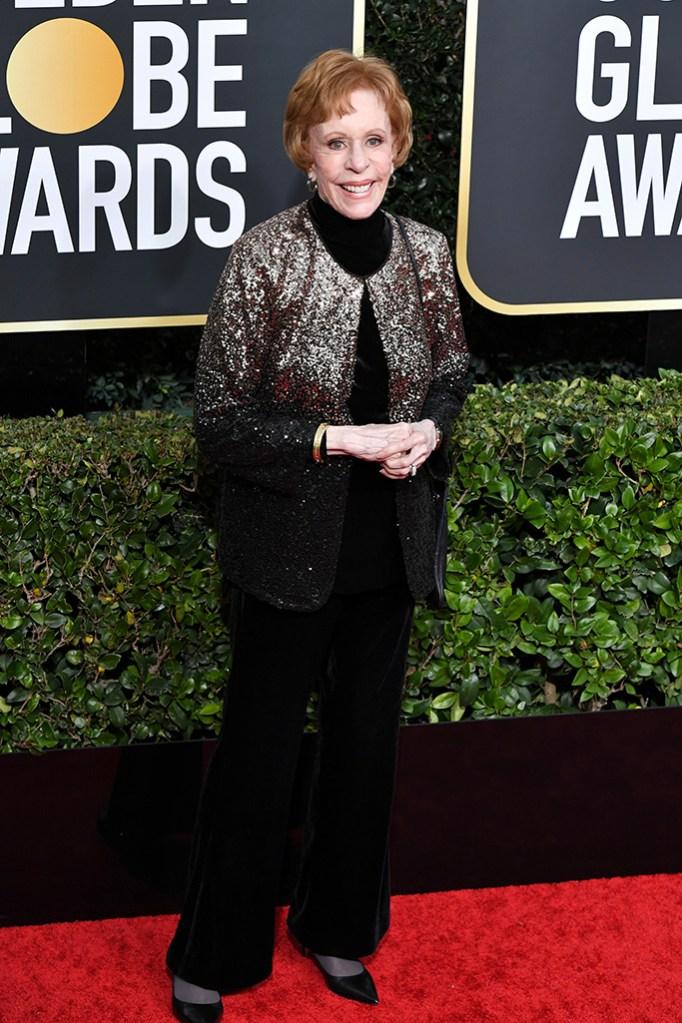 Carol Burnett77th Annual Golden Globe Awards, Arrivals, Los Angeles, USA - 05 Jan 2020