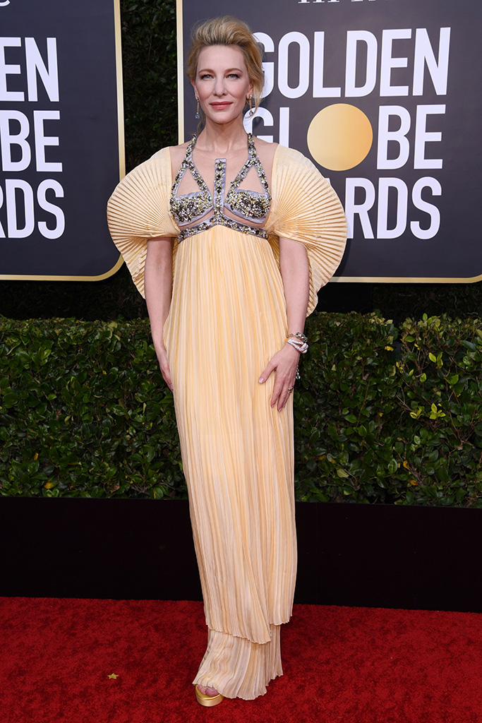 Cate Blanchett77th Annual Golden Globe Awards, Arrivals, Los Angeles, USA - 05 Jan 2020Wearing Mary Katrantzou