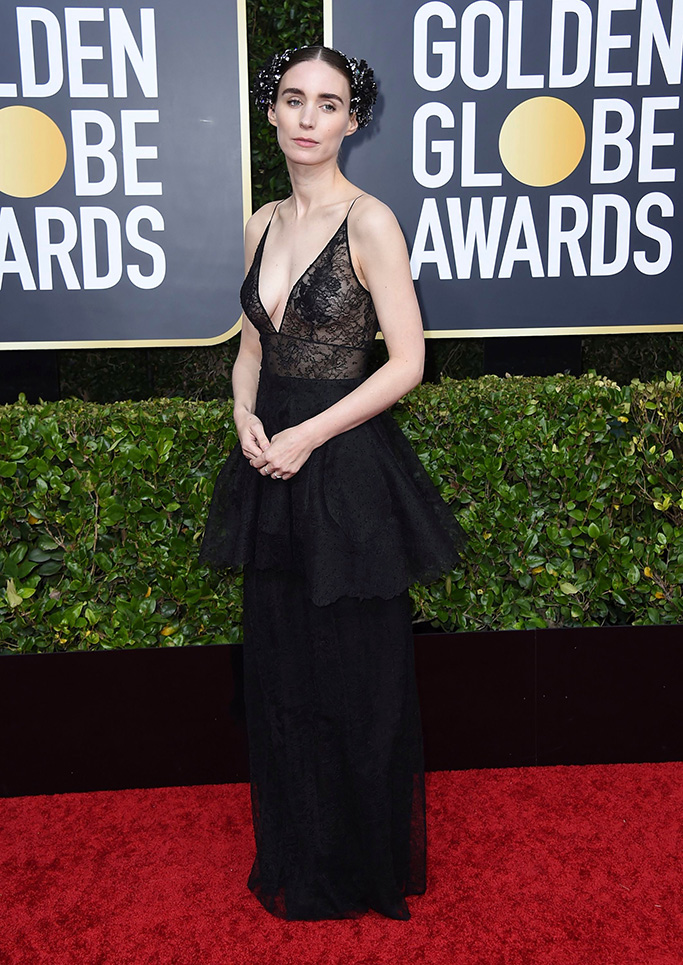 Rooney Mara arrives at the 77th annual Golden Globe Awards at the Beverly Hilton Hotel, in Beverly Hills, Calif77th Annual Golden Globe Awards - Arrivals, Beverly Hills, USA - 05 Jan 2020