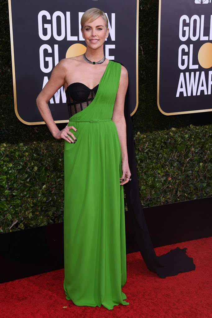 Charlize Theron77th Annual Golden Globe Awards, Arrivals, Los Angeles, USA - 05 Jan 2020Wearing Dior
