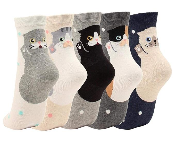 GotYourToes Cat Socks