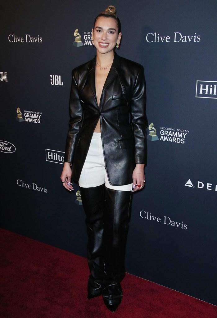 Dua LipaClive Davis' 2020 Pre-Grammy Gala, Arrivals, The Beverly Hilton, Los Angeles, USA - 25 Jan 2020