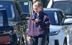 Hailey BieberHailey Bieber out and about,