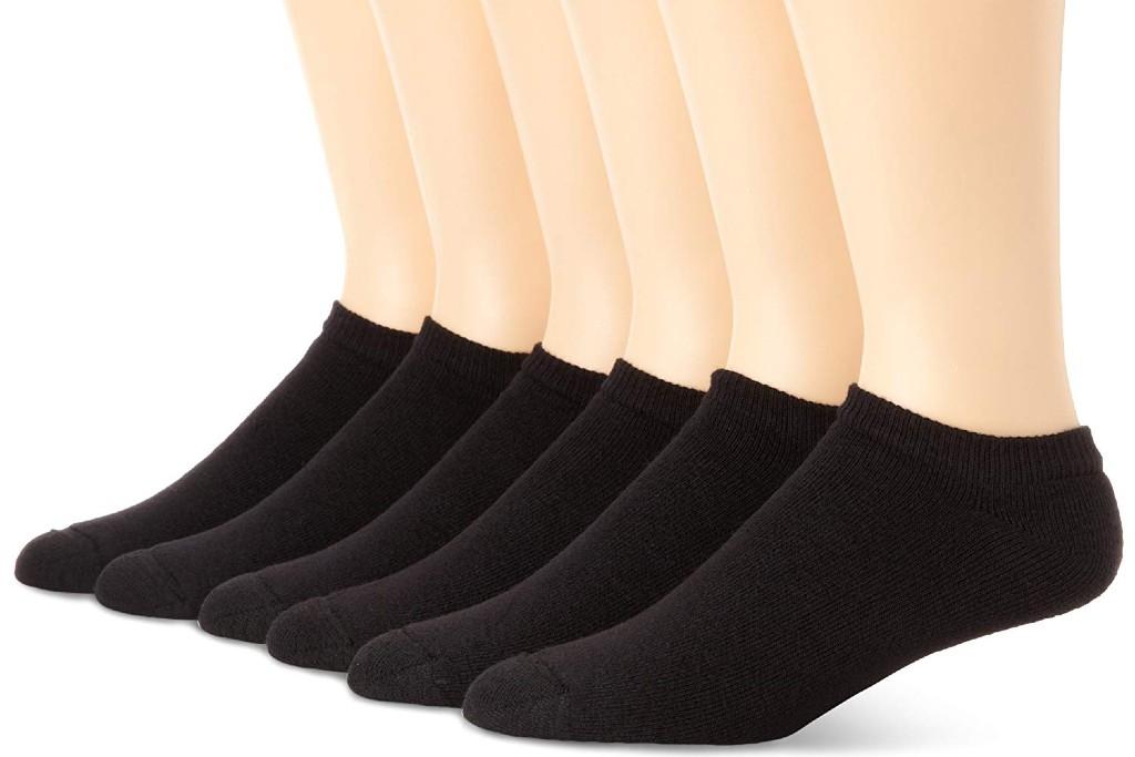 Hanes Classic Cushion No Show Socks