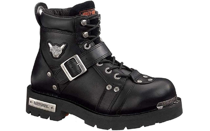 harley davidson lace-up boots