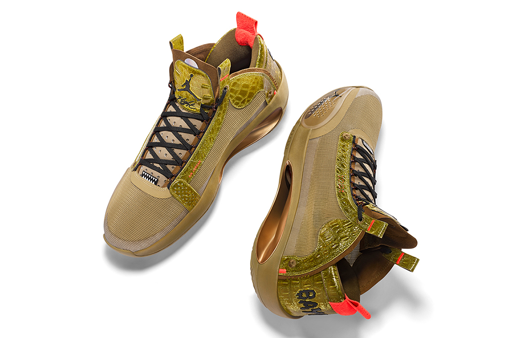 Air Jordan Sneaker During His NBA Debut