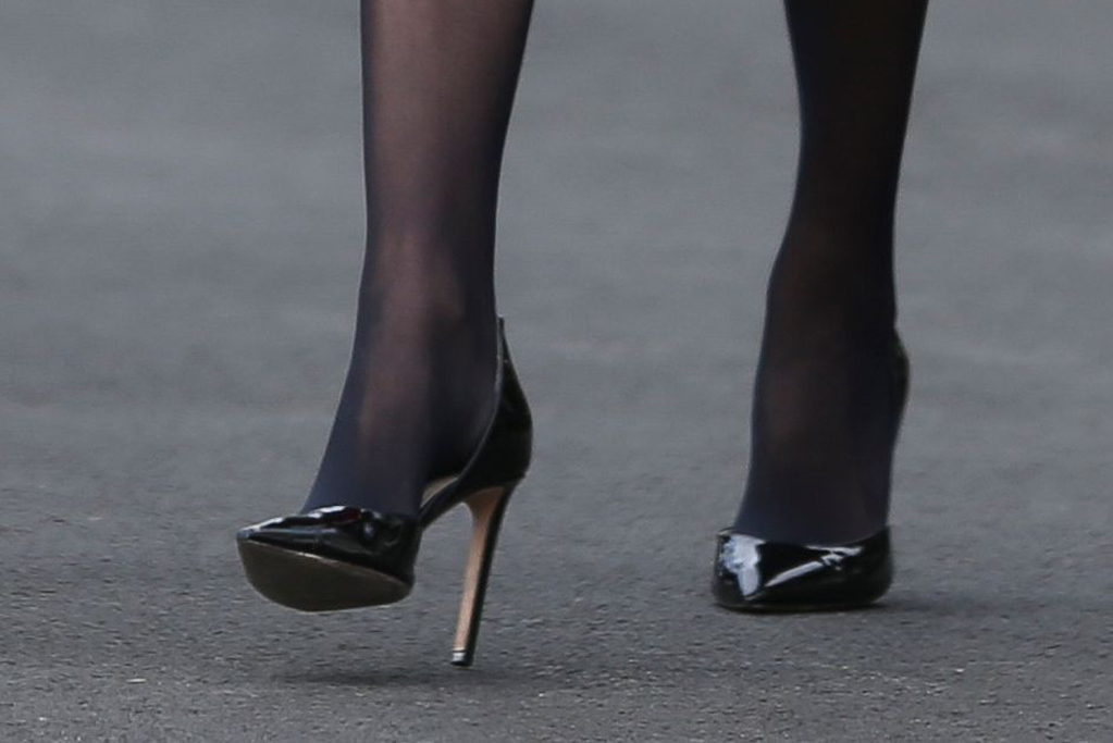 ivanka trump, shoe detail, red coat, carolina herrera, sheer tights, stockings, black pumps, stilettos, Senior Advisors to the President, Jared Kushner and Ivanka Trump attend a signing ceremony the United States-Mexico-Canada Trade Agreement (USMCA), on the South Lawn of the White House in Washington, DC, USA, 29 January 2020. The Trump administration says the revised North American Free Trade agreement will create six hundred thousand jobs.US President Donald J. Trump participates in a signing ceremony for the United States-Mexico-Canada Trade Agreement (USMCA), Washington, USA - 30 Jan 2020