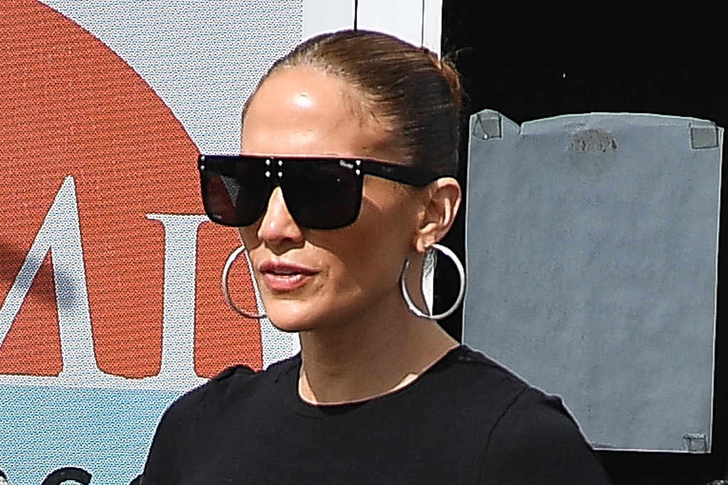 Jennifer Lopez Surprises Son Max With New Puppy Wears Designer Kicks Footwear News
