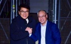 Jackie Chan, li ning, pfw men's,
