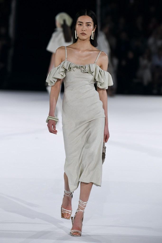Model on the catwalkJacquemus show, Runway, Autumn Winter 2020, Paris Fashion Week Men's, France - 18 Jan 2020