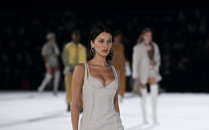 bella hadid, Models on the catwalkJacquemus show, Runway, Autumn Winter 2020, Paris Fashion Week Men's, France - 18 Jan 2020