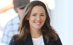 Jennifer Garner, celebrity style, white t