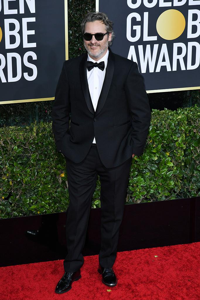 Joaquin Phoenix77th Annual Golden Globe Awards, Arrivals, Los Angeles, USA - 05 Jan 2020Wearing Stella McCartney