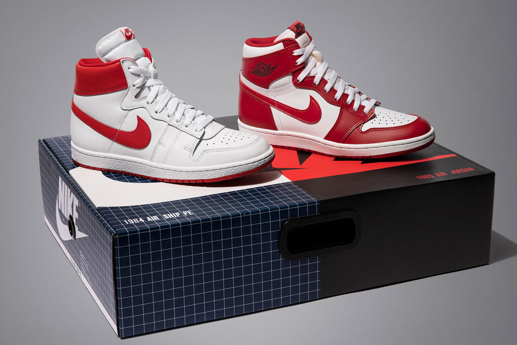 Nike Air Ship PE and the Air Jordan 1 High '85