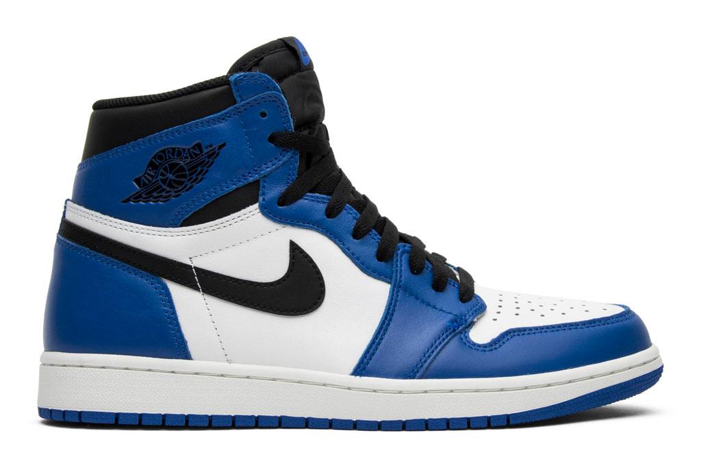 Air Jordan 1, white, blue, Jordan