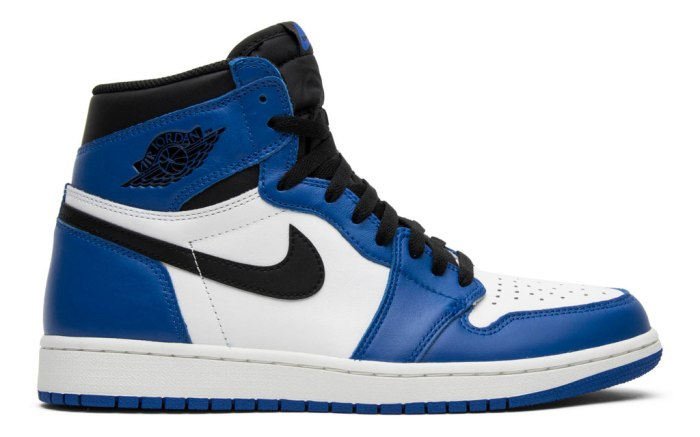 Air Jordan 1, white, blue, Jordan