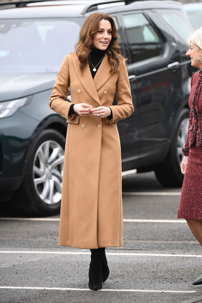 kate middleton, massimo dutti coat, tan coat, black boots, ralph lauren shoes, zara skirt, leopard print skirt, Catherine Duchess of Cambridge visit to Ely and Careau Children's Centre, Cardiff, WalesCatherine Duchess of Cambridge nationwide tour, UK - 22 Jan 2020The centre provides high quality early years education, childcare support services to children and their families, support for children with special needs and provision of adult education, play, breakfast and after-school clubs and holiday clubs are also housed in the centre, as well as health visitors, speech and language therapists and partners such as Sure Start and Language and Play. There is close contact with community partners such as the Salvation Army and Barnardo's. Wearing Massimo Dutti, Coat, High-Street BrandCatherine Duchess of Cambridge visit to Ely and Careau Children's Centre, Cardiff, WalesCatherine Duchess of Cambridge nationwide tour, UK - 22 Jan 2020The centre provides high quality early years education, childcare support services to children and their families, support for children with special needs and provision of adult education, play, breakfast and after-school clubs and holiday clubs are also housed in the centre, as well as health visitors, speech and language therapists and partners such as Sure Start and Language and Play. There is close contact with community partners such as the Salvation Army and Barnardo's. Wearing Massimo Dutti, Coat, High-Street Brand