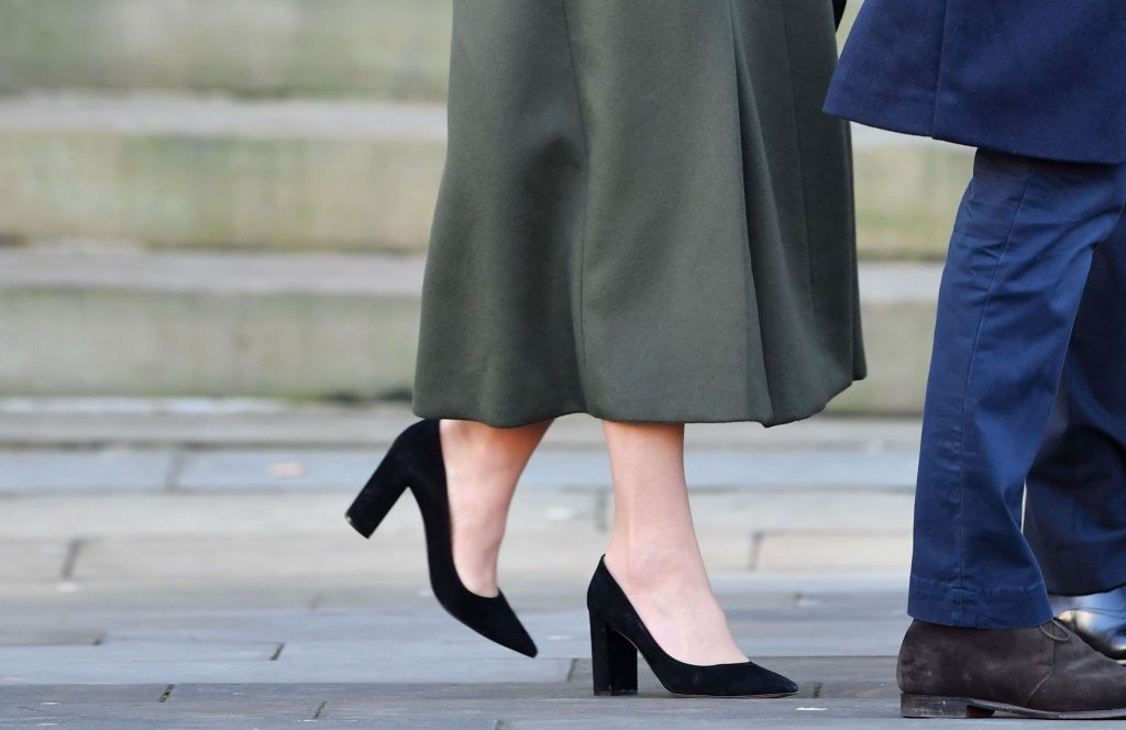 kate middleton, gianvito rossi heels, Catherine Duchess of CambridgePrince William and Catherine Duchess of Cambridge visit to Bradford, UK - 15 Jan 2020Wearing Alexander McQueen