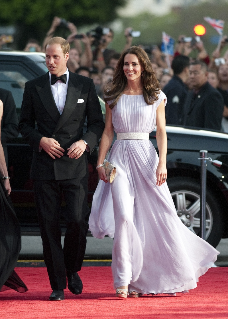 BAFTA 'Brits To Watch' event, kate middleton, prince william, jimmy choo