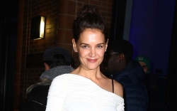 katie holmes, white dress, American Australian