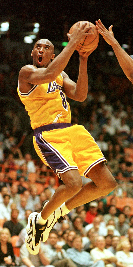 Kobe Bryant, 1997, Adidas EQT Elevation, shoes, sneakers, la lakers