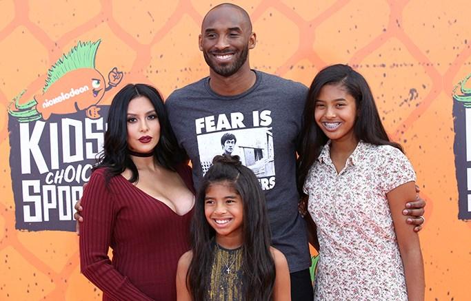 Kobe Bryant, Vanessa Laine, Gianna Maria-Onore Bryant, and Natalia Diamante BryantNickelodeon Kids' Choice Sports Awards, Arrivals, Los Angeles, USA - 14 Jul 2016