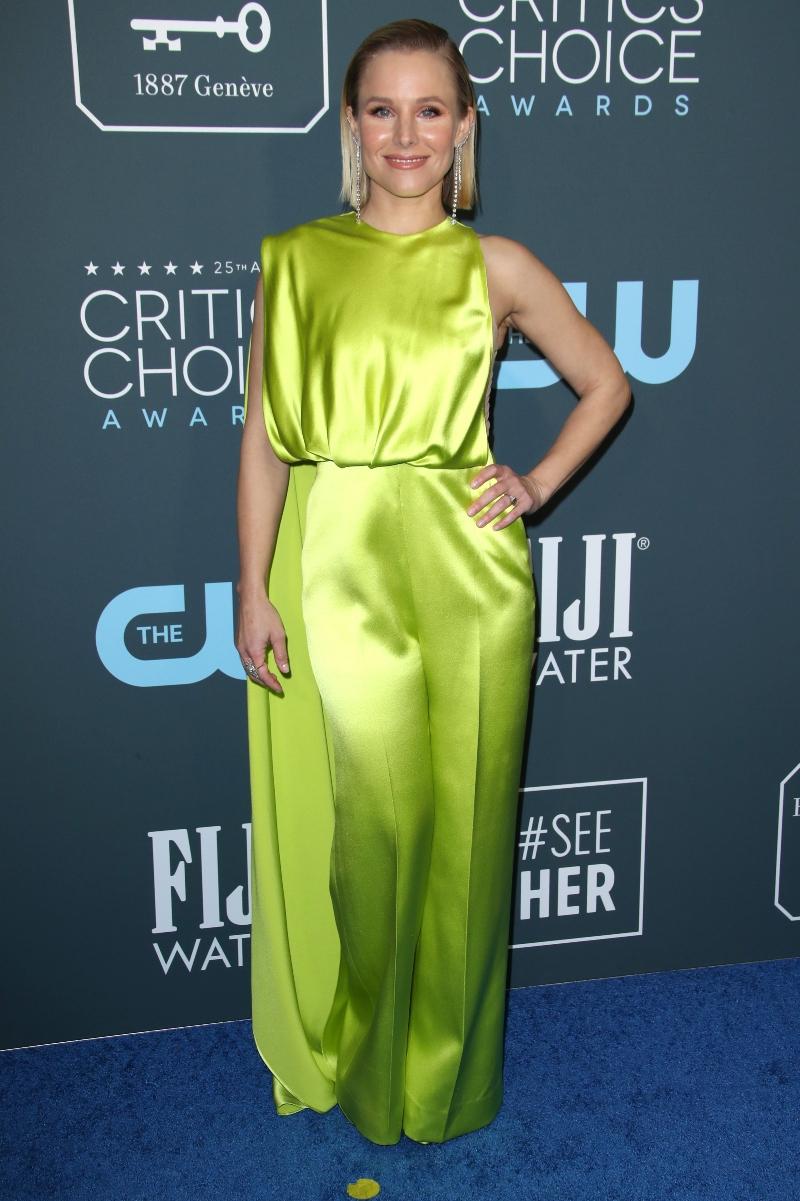 Kristen Bell25th Annual Critics' Choice Awards, Arrivals, Barker Hanger, Los Angeles, USA - 12 Jan 2020