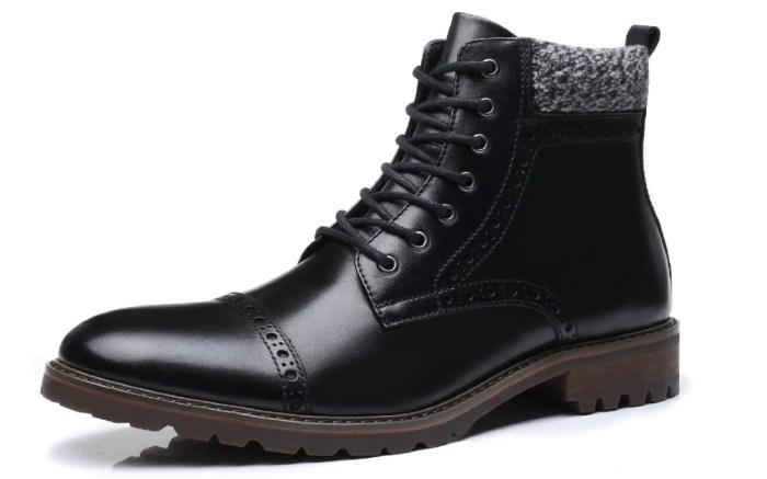 la milano lace-up dress boots
