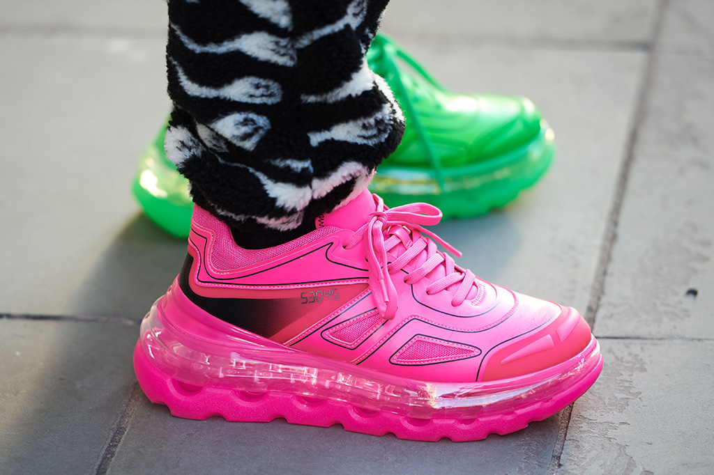 Street Style Shoes at London Fashion