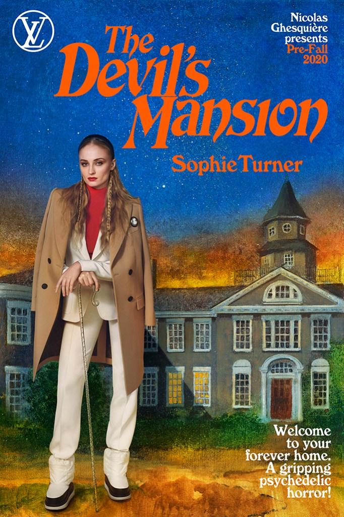 Sophie Turner, Louis Vuitton Pre-Fall 2020, Louis Vuitton