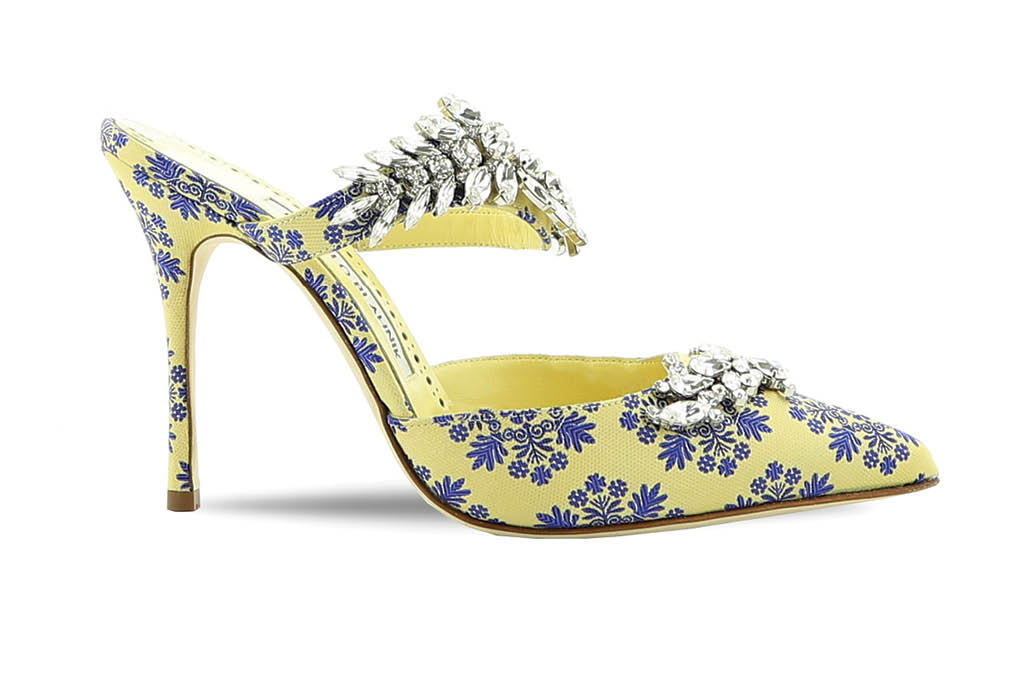 Manolo Blahnik Summer 20 shoes