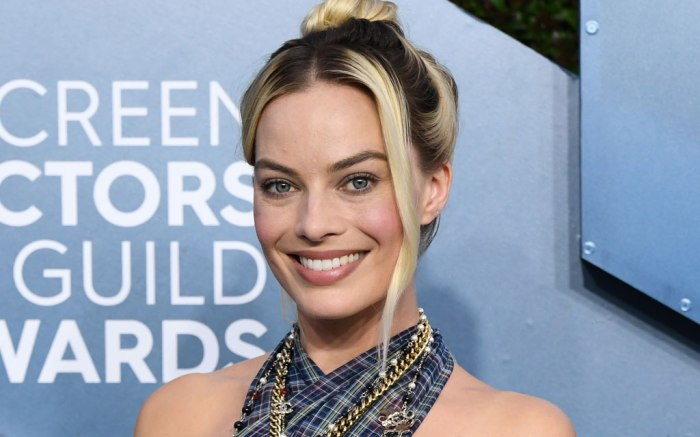 Margot Robbie, SAG awards, Red Carpet, 2020