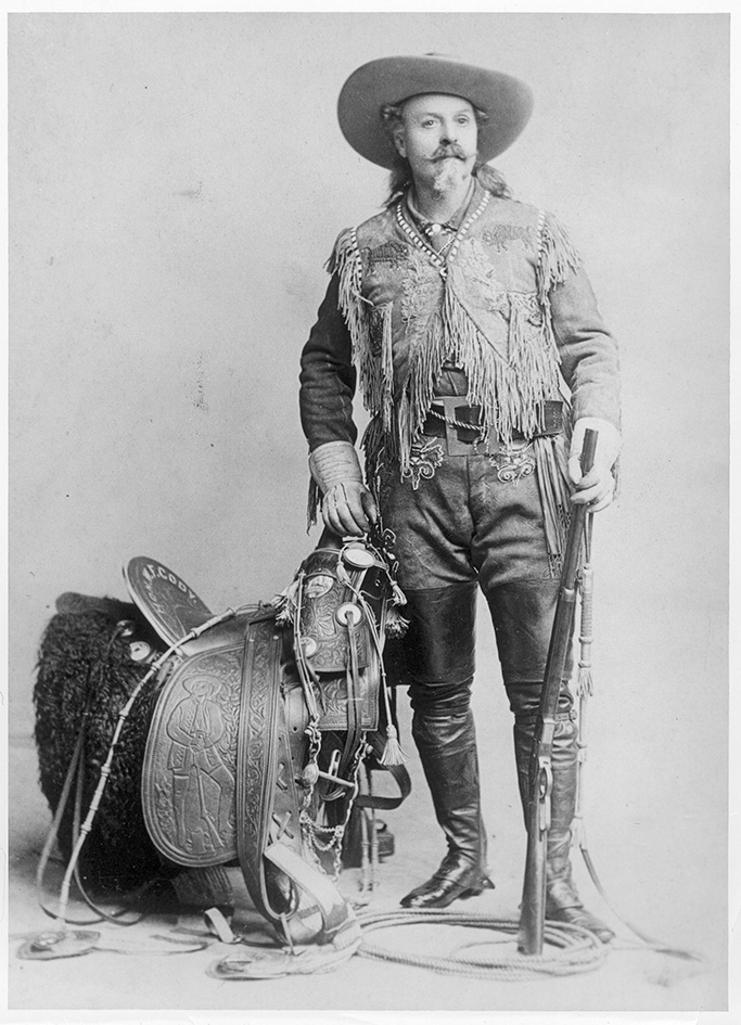 Buffalo Bill Cody, historical, men in heels