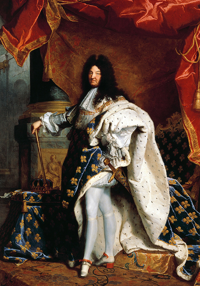 King Louis XIV, historical, men in heels