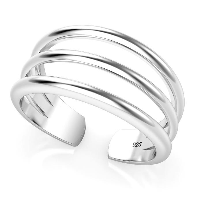 Metal Factory Toe Ring