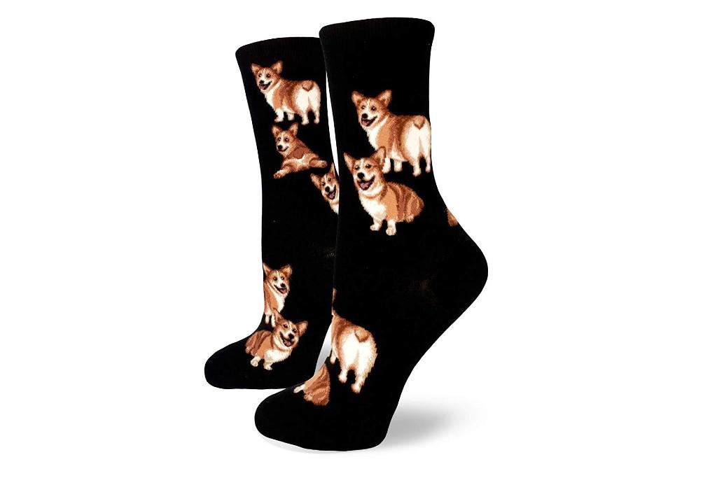 modsocks corgi butt socks