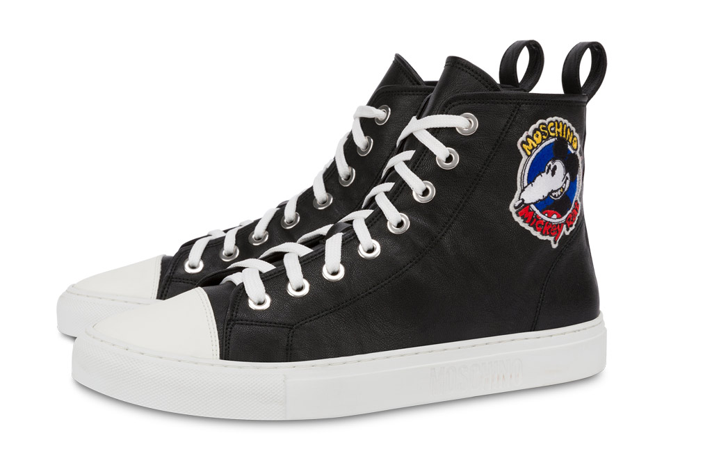 Moschino, Mickey Rat, high top sneakers