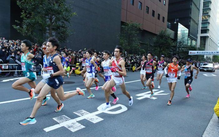 Tokyo Hakone Ekiden racers