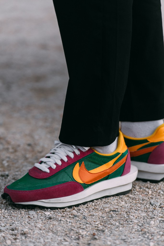 Nike x Sacai LDV Waffle sneakers, paris fashion week men's