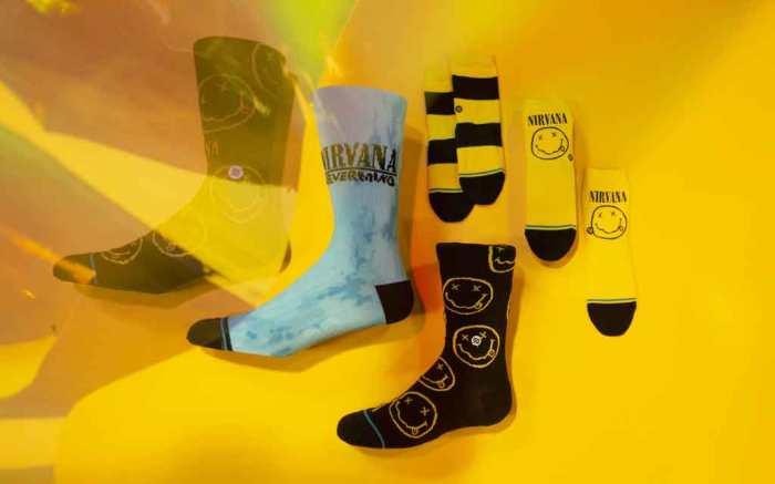 Stance, nirvana, socks