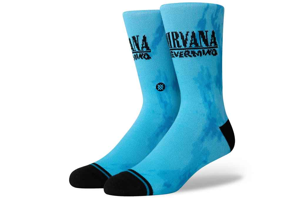 Nirvana Nevermind socks from Stance.