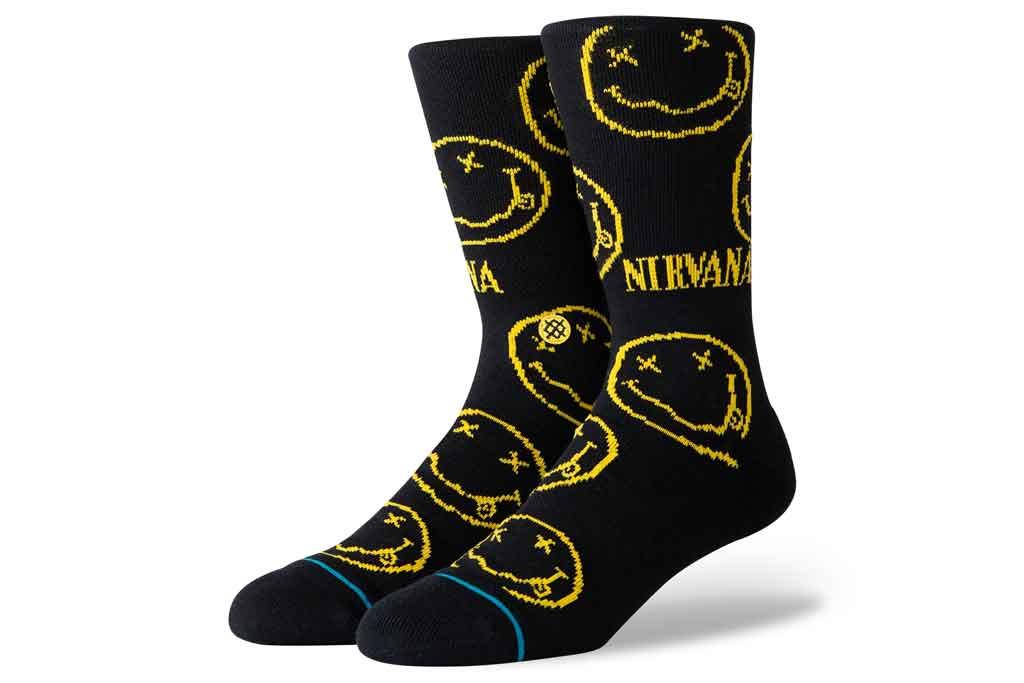 Nirvana , stance, face socks