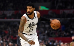 Los Angeles Clippers forward Paul George