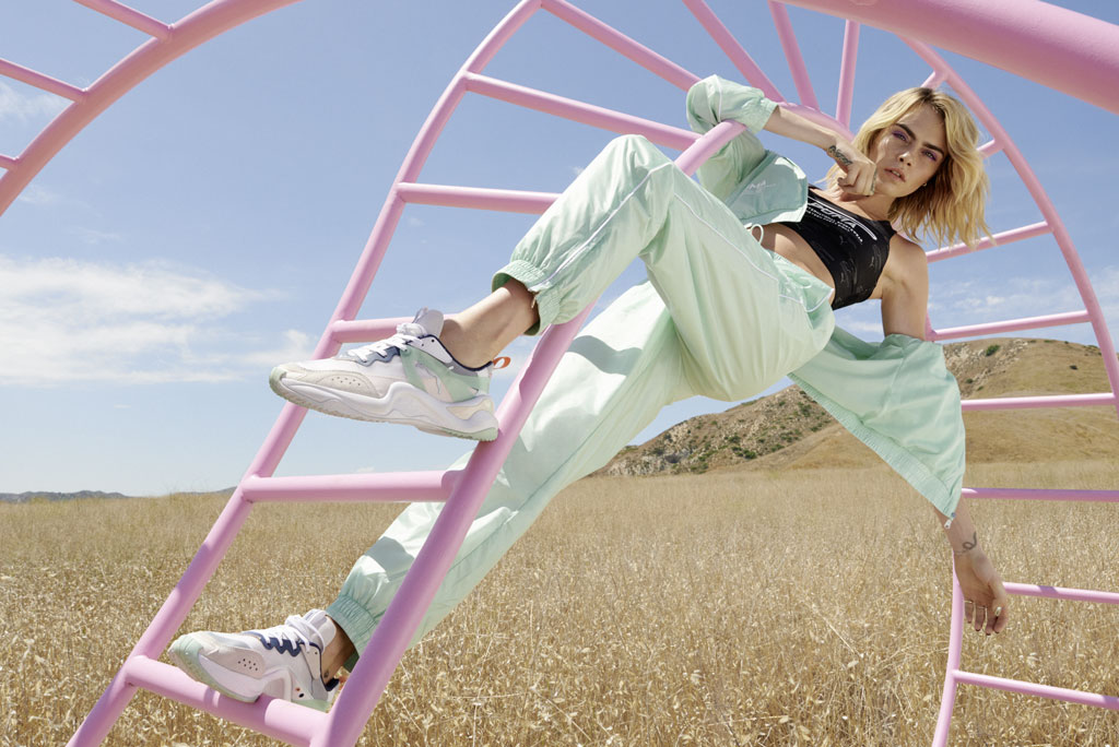 Puma Releases Rise Women's Sneakers With Cara Delevingne Campaign ...