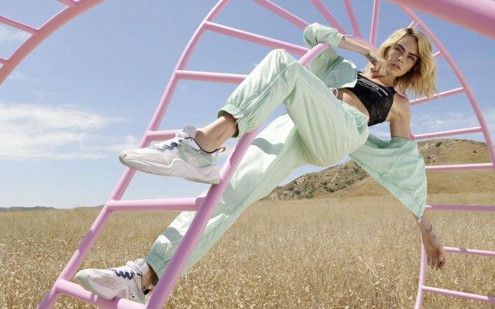 Puma Rise, cara delevingne, campaign image