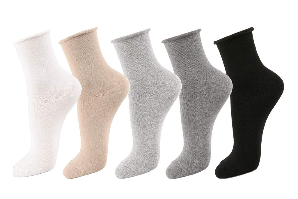 stylegaga roll top socks