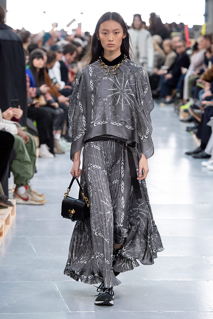 Sacai x Nike, men's fall '20, women's prefall '20, Paris Men's Fashion Week.