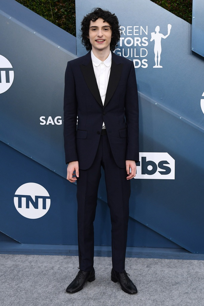 Finn Wolfhard, gucci, suit, 26th Annual Screen Actors Guild Awards, Arrivals, Shrine Auditorium, Los Angeles, USA - 19 Jan 2020