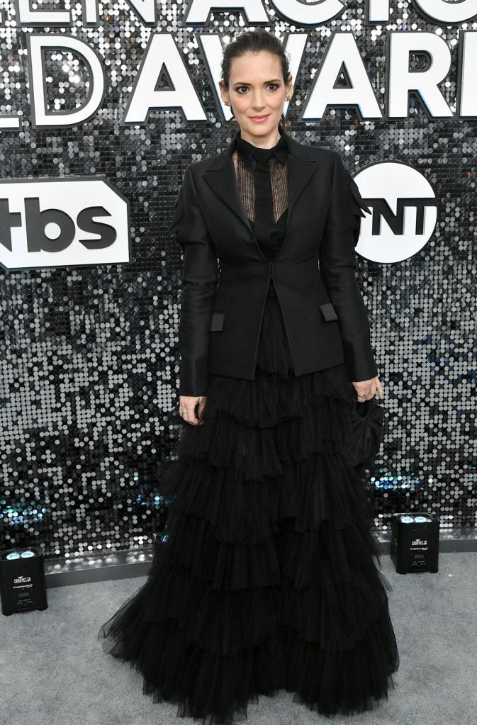 Winona Ryder26th Annual Screen Actors Guild Awards, Arrivals, Shrine Auditorium, Los Angeles, USA - 19 Jan 2020