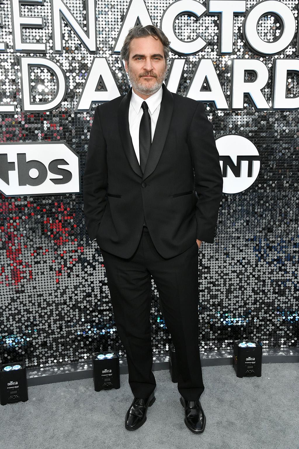 Joaquin Phoenix26th Annual Screen Actors Guild Awards, Arrivals, Shrine Auditorium, Los Angeles, USA - 19 Jan 2020